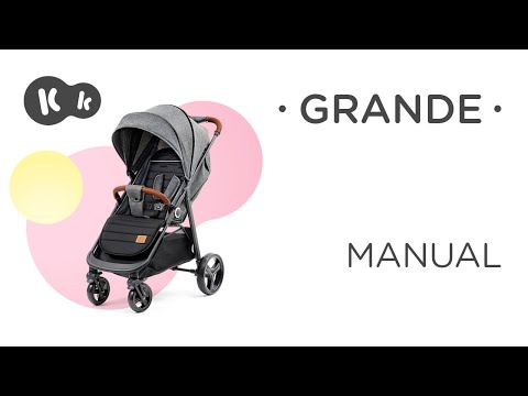 video Kinderkraft Grande Grey