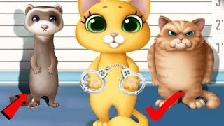 Fun Animal Care - Kitty Meow Meow City Heroes - Play Cats to the Rescue Fun Kids Game By TutoTOONS