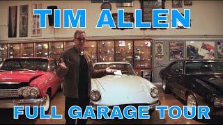 TIM ALLEN'S ENTIRE CAR COLLECTION   CELEBRITY GARAGE TOUR PT. 1