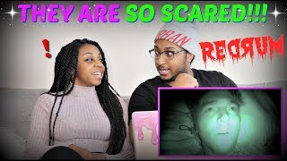 "Shane Dawson ""24 HOURS OVERNIGHT IN A HAUNTED HOTEL"" REACTION!!!"
