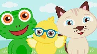 CUCÚ y otras canciones con SONIDOS DE ANIMALES ♫ HD