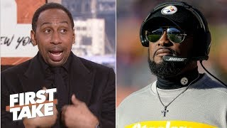 Mike Tomlin hot-seat talk offends Stephen A. Smith | First Take