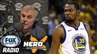 Colin Cowherd - Kevin Durant Leaving The Warriors Makes NO SENSE
