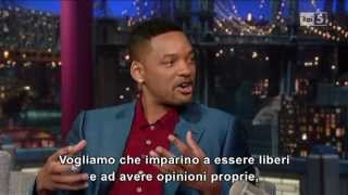 Will Smith Al David Letterman 20-05-2013 (sub Ita) Part 1