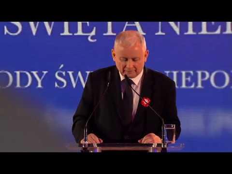 Jarosław Kaczyński - Wystąpienie Prezesa PiS w Krakowie z okazji Narodowego Święta Niepodległości