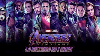 Avengers Endgame: La Historia en 1 Video