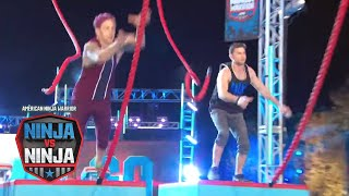 Qualifying Episode 9 Sneak Peek: Jamie Rahn Vs. Drew Knapp | American Ninja Warrior: Ninja Vs. Ninja