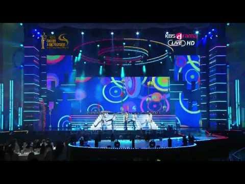 120119 B1A4 Beautiful Target +  O K Seoul Music Awards