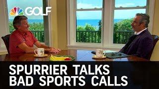 Steve Spurrier Talks Cheating & Bad Calls - Feherty | Golf Channel