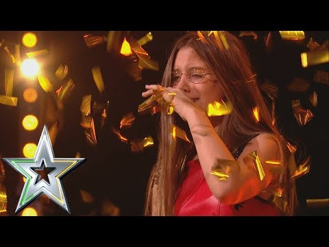 14 year old singer Iveta gets Michelle's Golden Buzzer! | Ireland's Got Talent 2019