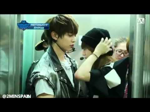 2min moment in the elevator ♥
