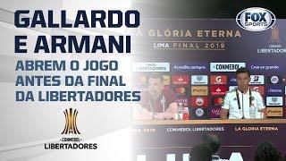 RIVER PLATE! Gallardo e Armani abrem o jogo antes da final da Libertadores