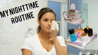 My Nighttime Skincare Routine & Makeup Removal