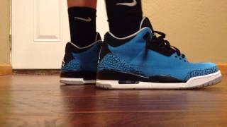 "Air Jordan 3 ""Powder Blue"" ON FEET Review"