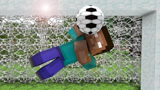 Monster School : Penalty Shootout ! - Minecraft Animation