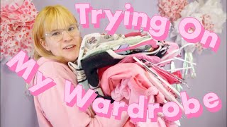 Trying On My ENTIRE Wardrobe 🎀 Declutter My Closet With Me