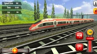Euro Train Driving Games #001 - Train Simulator Games Android #q | Android Gameplay FHD