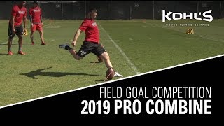 Field Goal Competition | 2019 Pro Combine