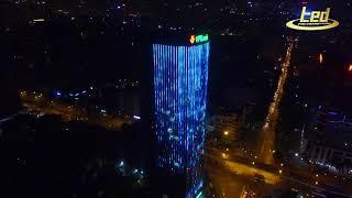 Chiếu sáng nghệ thuật tòa tháp VP Bank   89 Láng Hạ, Hà Nội