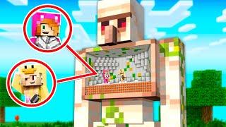 Minecraft pero PODEMOS ENTRAR en CUALQUIER MOB 😱 MINECRAFT con LYNA