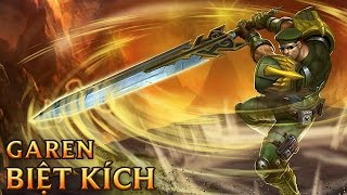 Garen Biệt Kích - Commando Garen - Skins lol