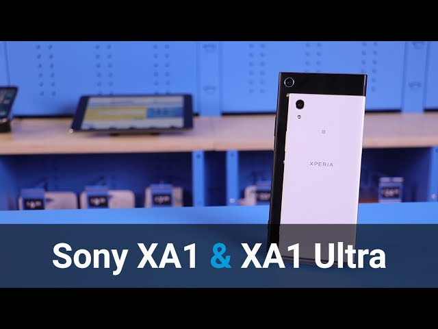 Belsimpel-productvideo voor de Sony Xperia XA1 Ultra White