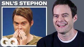 Bill Hader Breaks Down His 9 Most Iconic Roles | GQ