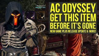 Assassin's Creed Odyssey New Game Plus NEXT WEEK & Item You Want To Get (AC Odyssey new game plus)