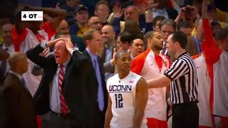 Re-live Syracuse and UConn's epic 6-OT game in 2009   ESPN