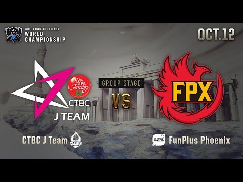 JT vs FPX | GROUP STAGE Day 1 H/L 10.12 | 2019 Worlds Championship