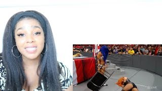 SASHA BANKS RETURNS TO WWE RAW 2019| Reaction