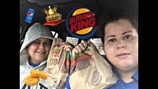 Vlog|Burger King Mukbang|