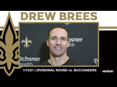 Drew Brees on Tom Brady, Buccaneers Offense | Saints-Buccaneers NFC Divisional Round