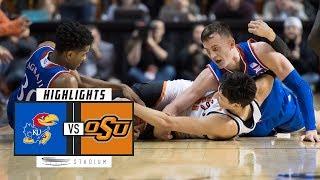 No. 15 Kansas vs. Oklahoma State Basketball Highlights (2018-19) | Stadium