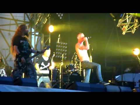Clawfinger - Are you Man Enough (Live, Рок'n'Січ, Киев, Труханов остров, 9.06.13)