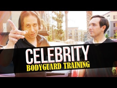 Celebrity Bodyguard Training