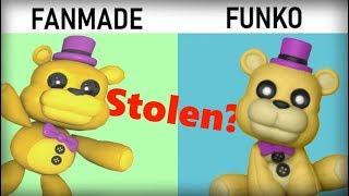 Funko STOLE Fan-Made Designs?! New FNaF Arcade Vinyl Review