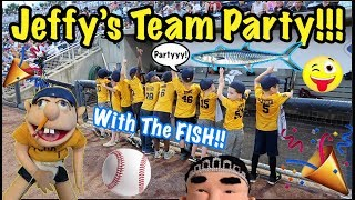 Jay-Fee's Tee-Ball TEAM PARTY!!!!! (With Wahoo Fish)