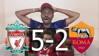 Barcelona Fan React ● To Liverpool VS Roma 5-2 All Goals