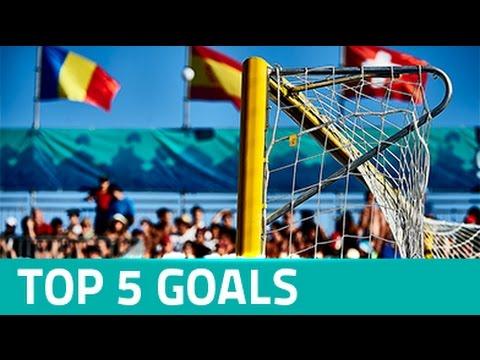 TOP 5 GOALS - EURO BEACH SOCCER LEAGUE SANXENXO 2016