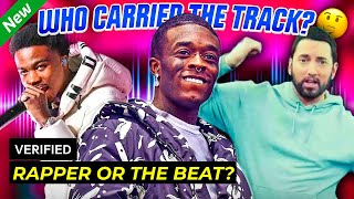 POPULAR RAP SONGS: Rapper vs. The Beat - Who Carried the Track?
