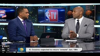 GameTime - DeMarcus Cousins expected to return around Jan. 18th | January 11, 2019