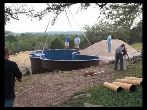 How to Install a Fiberglass Swimming Pool