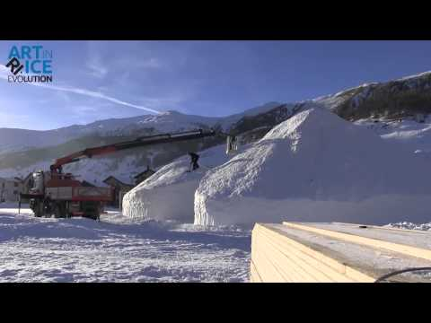 Art in Ice - Il Terzo Paradiso - 3° giorno