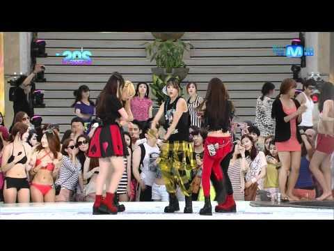 20120628  Mnet 20's Choice 에프엑스 fx & DJ Koo Electric Party