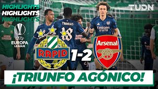 Highlights   Rapid Viena 1-2 Arsenal   Europa League 2020/21 - J1   TUDN