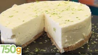 Recette de Cheesecake au citron vert sans cuisson - 750g
