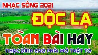 LK Nhạc Sống 2021 Mới Nhất - GIỌNG CA ĐỘC LẠ CẢNH ĐẸO 4K 2021 - Bolero RumBa Phải Thế Này
