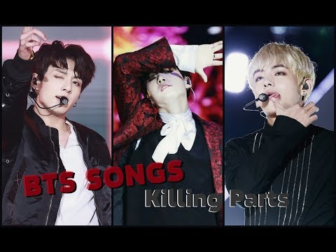 BTS KILLING PARTS | Songs Edition