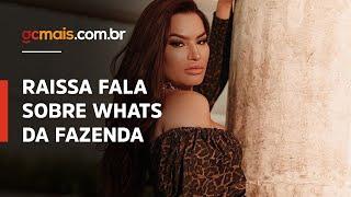 Raissa Barbosa conta se faz parte ou não do grupo de WhatsApp com participantes de A Fazenda 2020